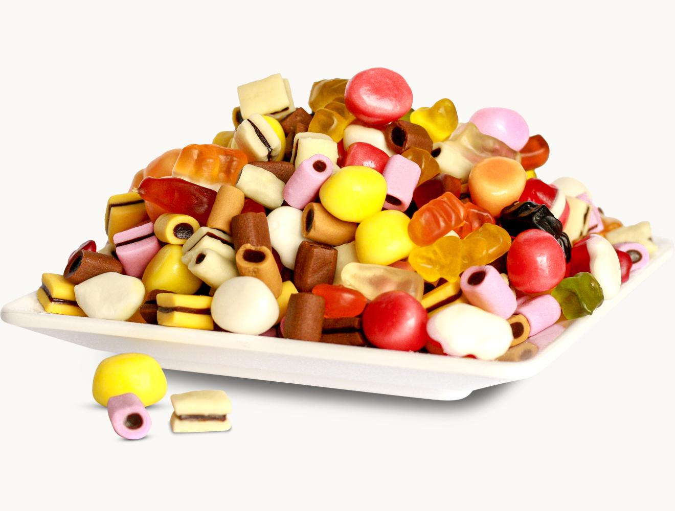 Fruchtgummi Lakritz Mini Color Rado