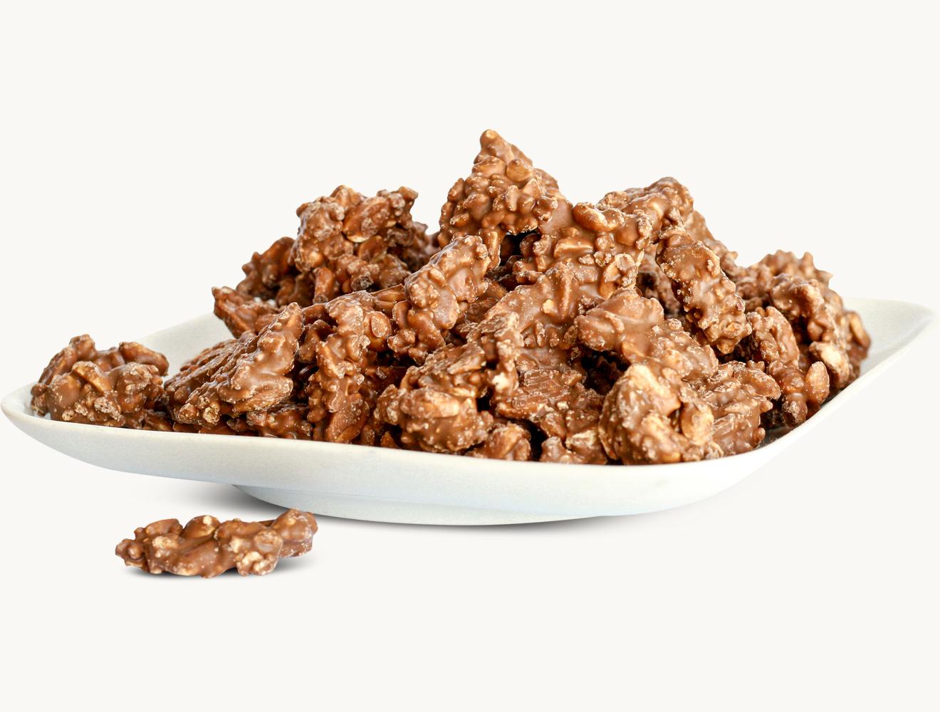 Crunch Erdnuss Vollmilch
