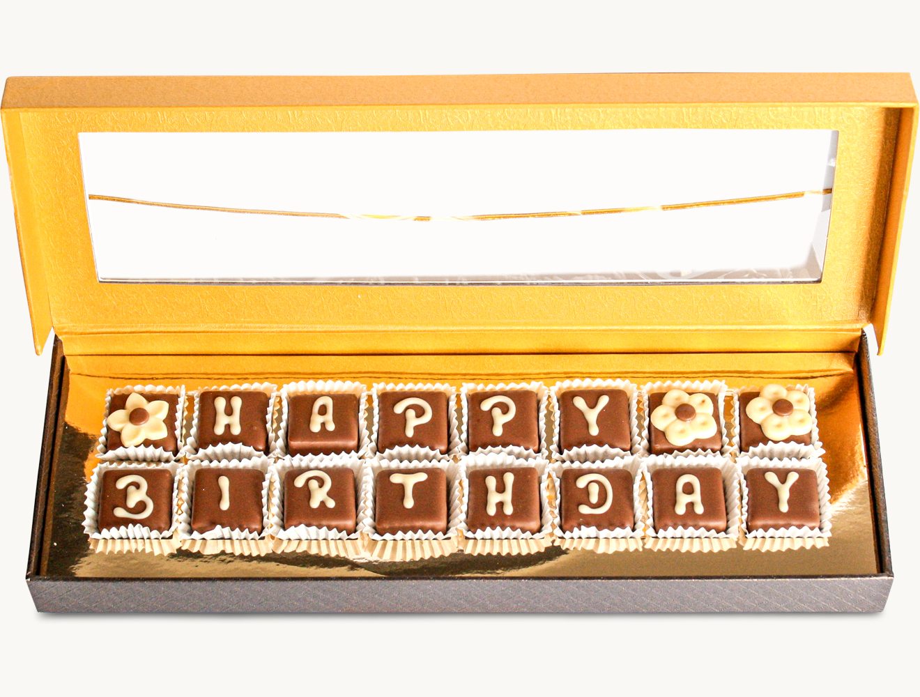 "Pralinen ""Happy Birthday"""