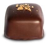 Gold-Marzipan Praline