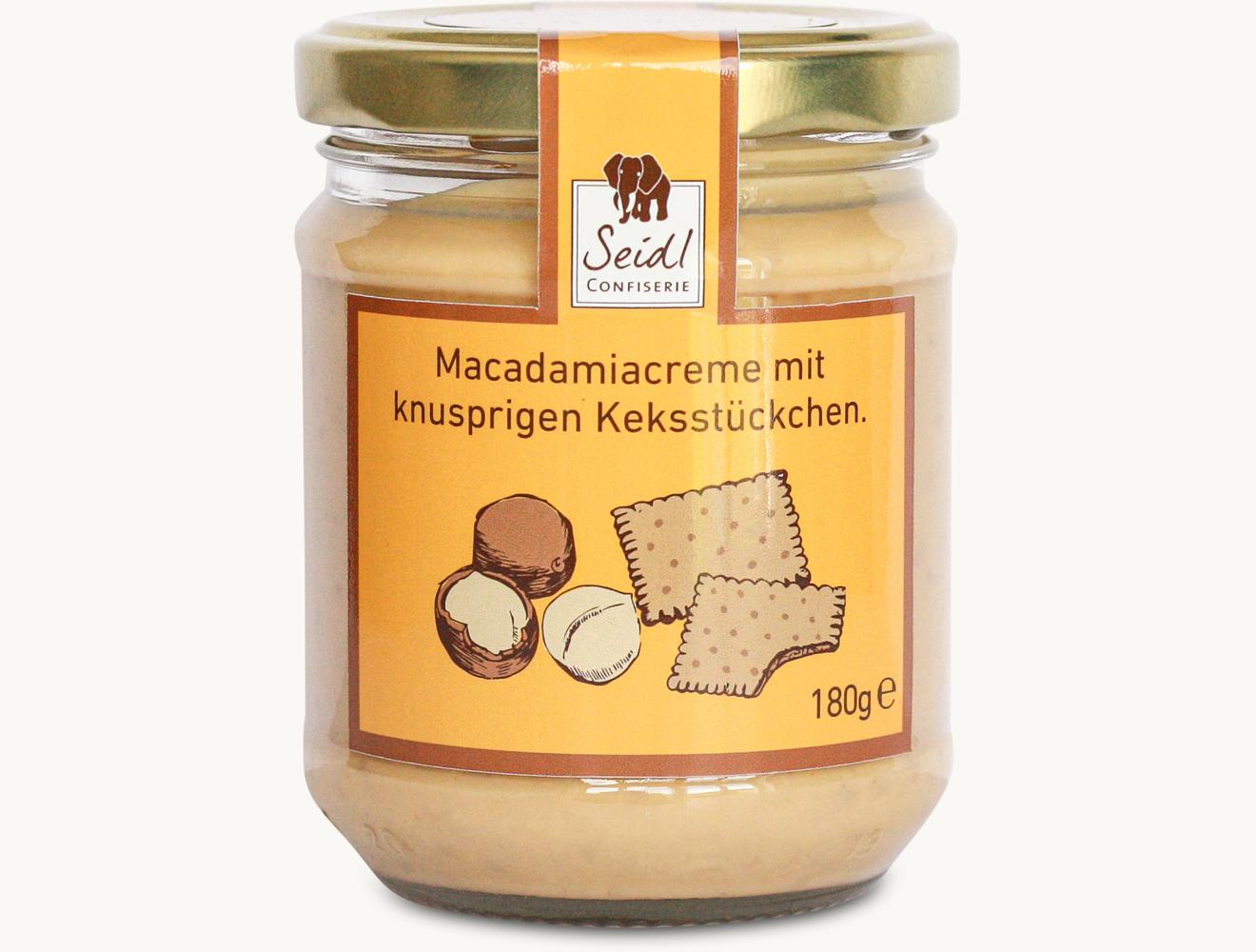 Macadamia Brotaufstrich Knusper