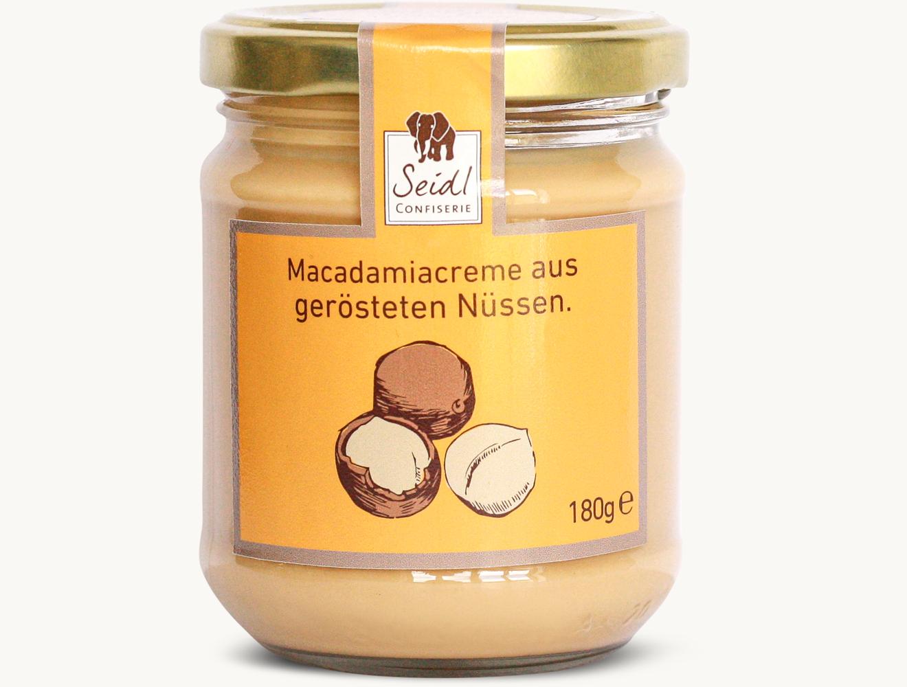 Macadamia Brotaufstrich Natur
