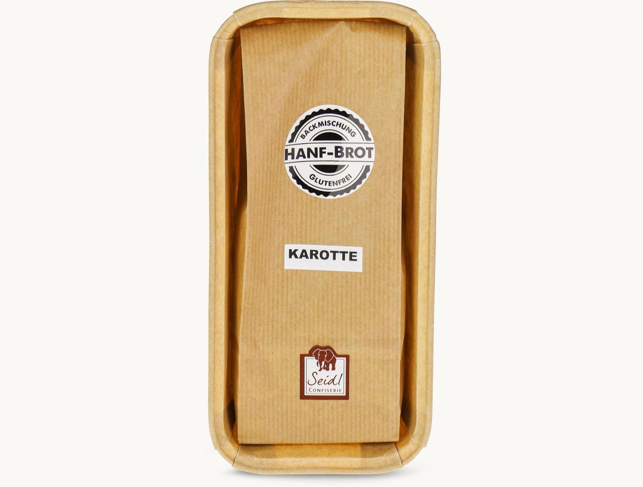 Backmischung Brot Hanf Karotte