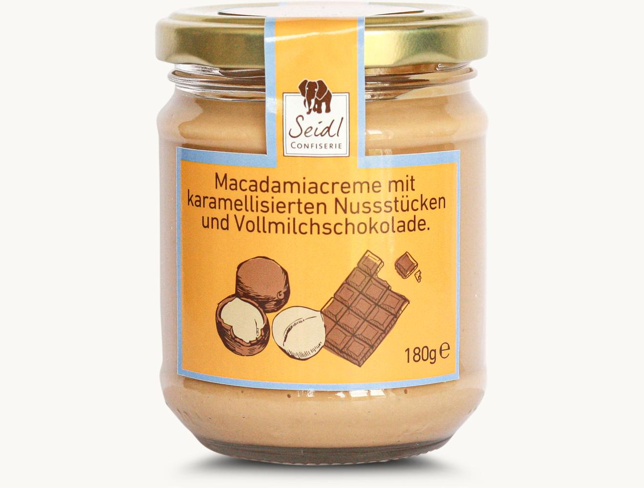 Macadamia Brotaufstrich Schoko & Nuss