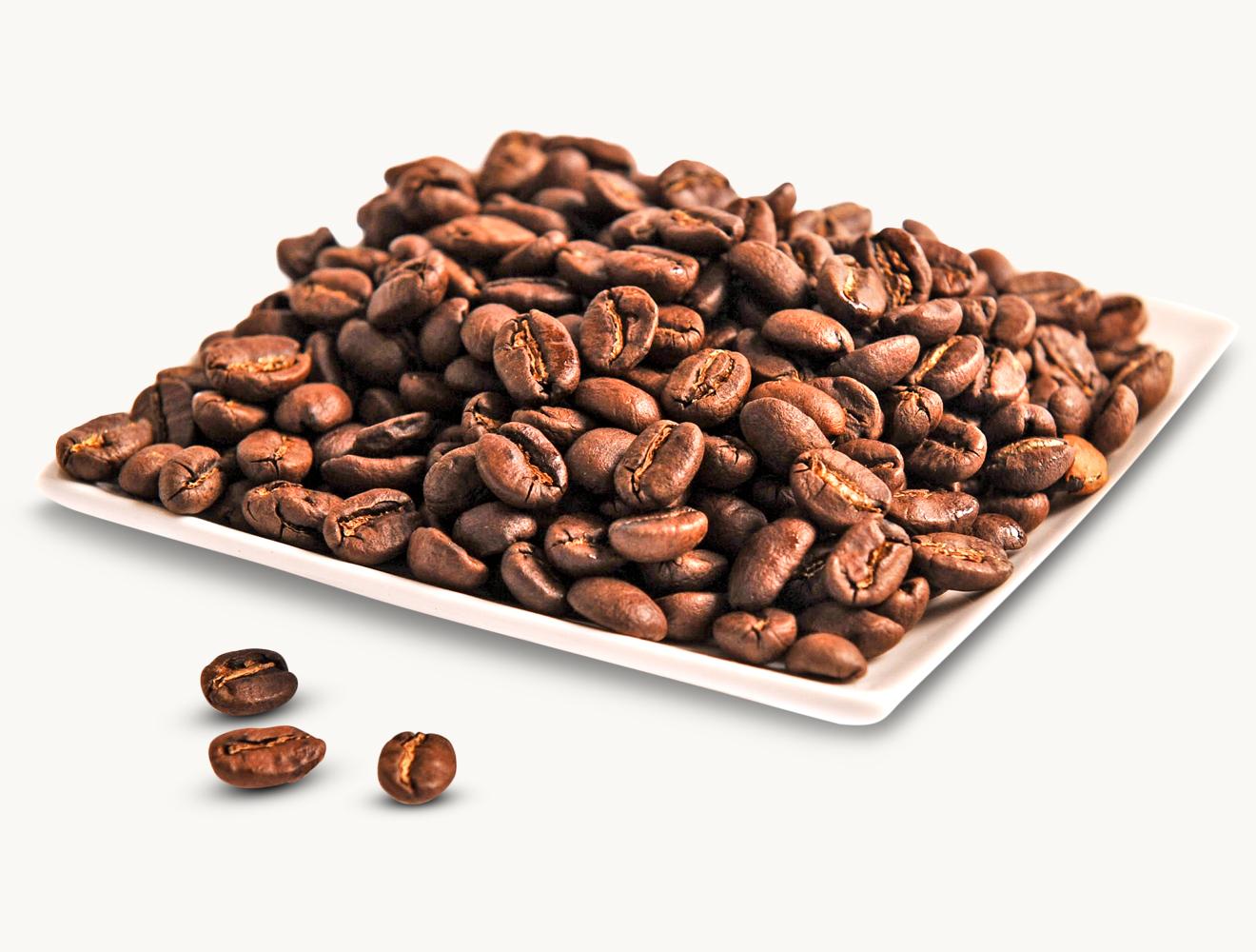 Hausmischung 100% Arabica Kaffee ganze Bohnen