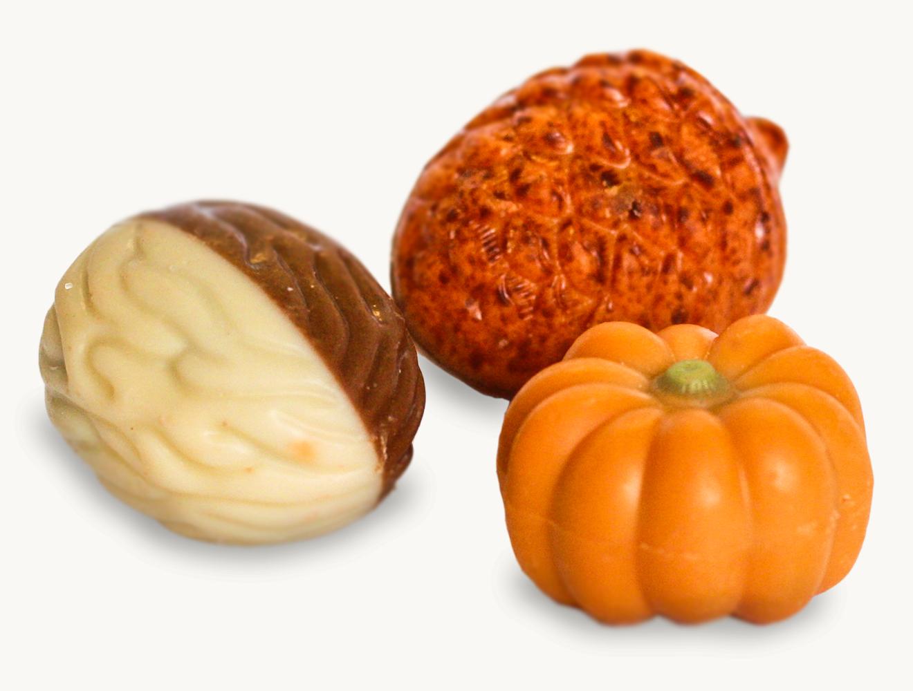 Herbstliche Pralinenmischung