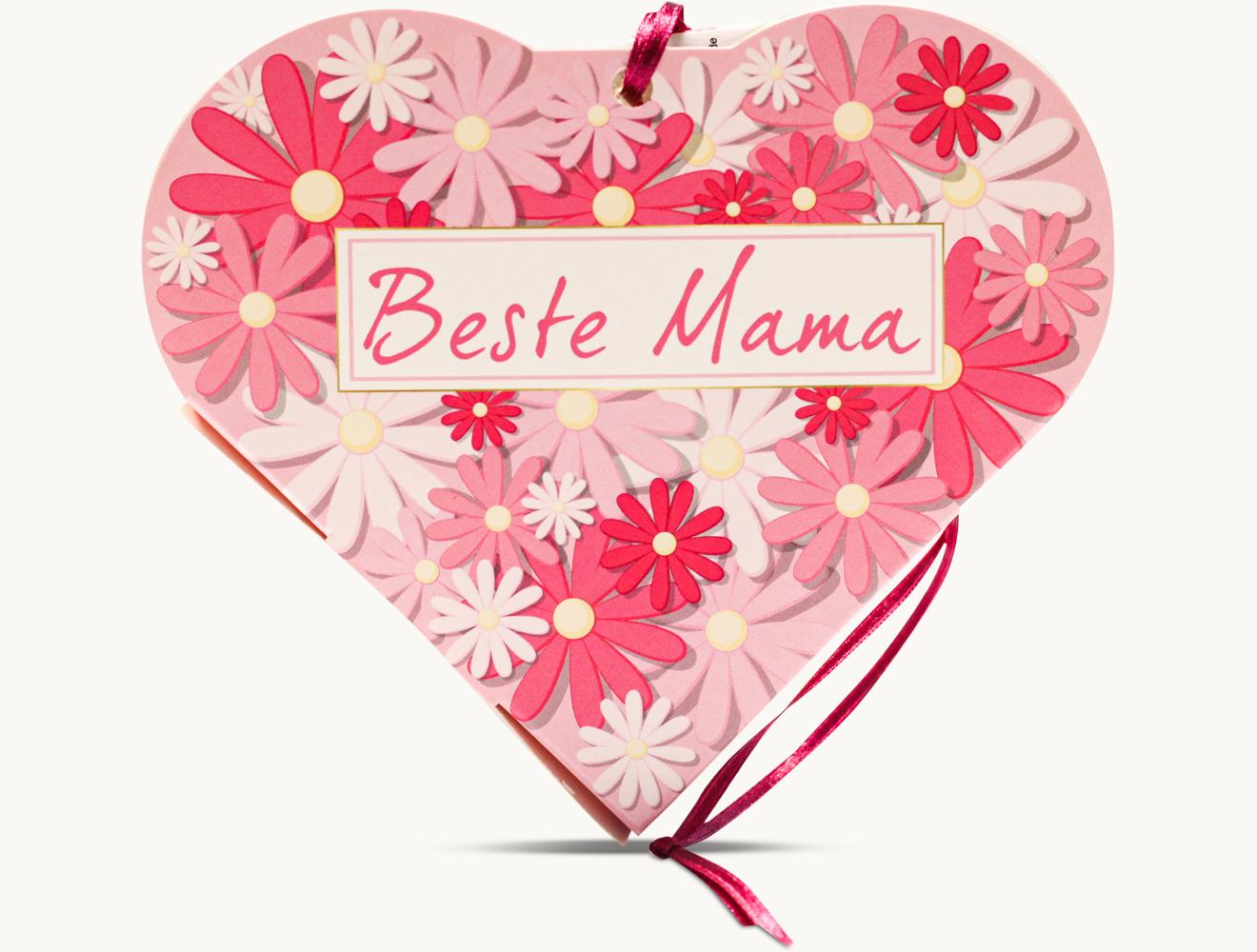"Schokini Herz ""BESTE MAMA"""